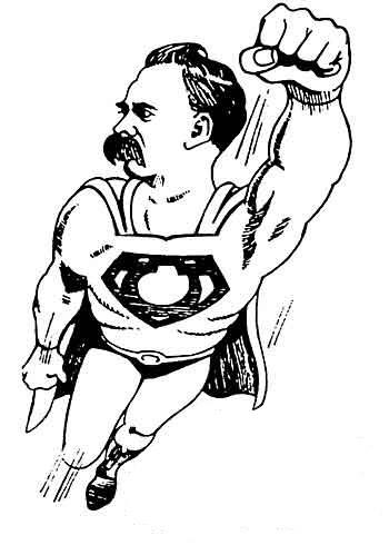 Friedrich Wilhelm Nietzsche In Boek 5 Van De Sleutel